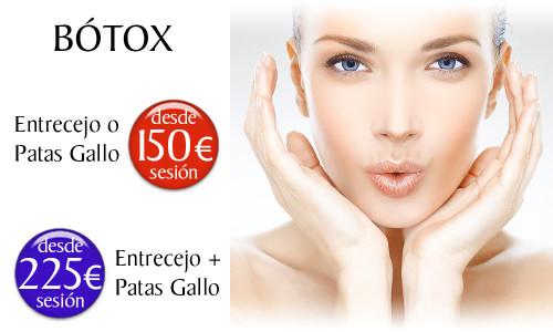 Precio del tratamiento de Bótox en la Clínica Dual de Valencia