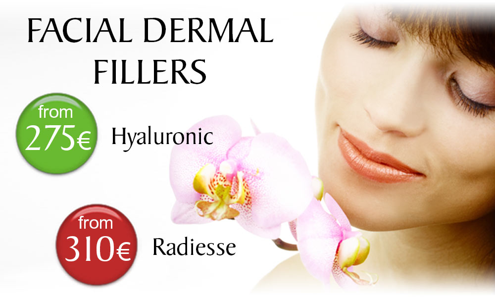 Facial Dermal Filler treatment prices at Clínica Dual in Valencia