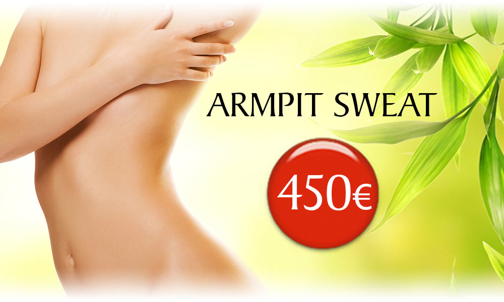 Armpit Sweat (Hyperhydrosis) treatment prices at Clínica Dual in Valencia