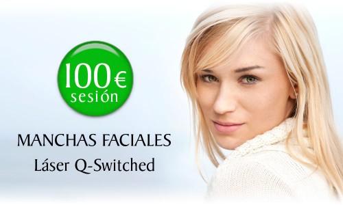 Precio de eliminar las manchas faciales con Láser Q-Switched en la Clínica Dual de Valencia