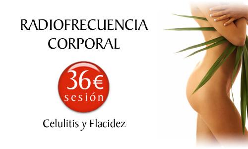 Precio del Tratamiento de la Celulitis y la Flacidez con Radiofrecuencia Corporal en la Clínica Dual de Valencia