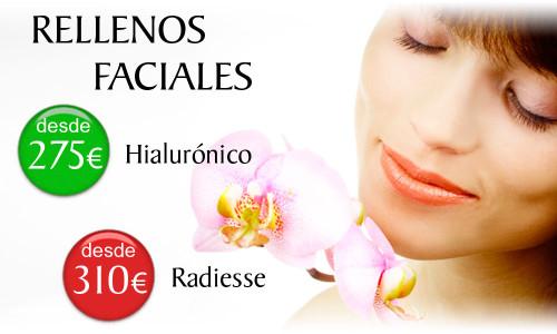 Precios de los Rellenos de Arrugas Faciales en la Clínica Dual de Valencia
