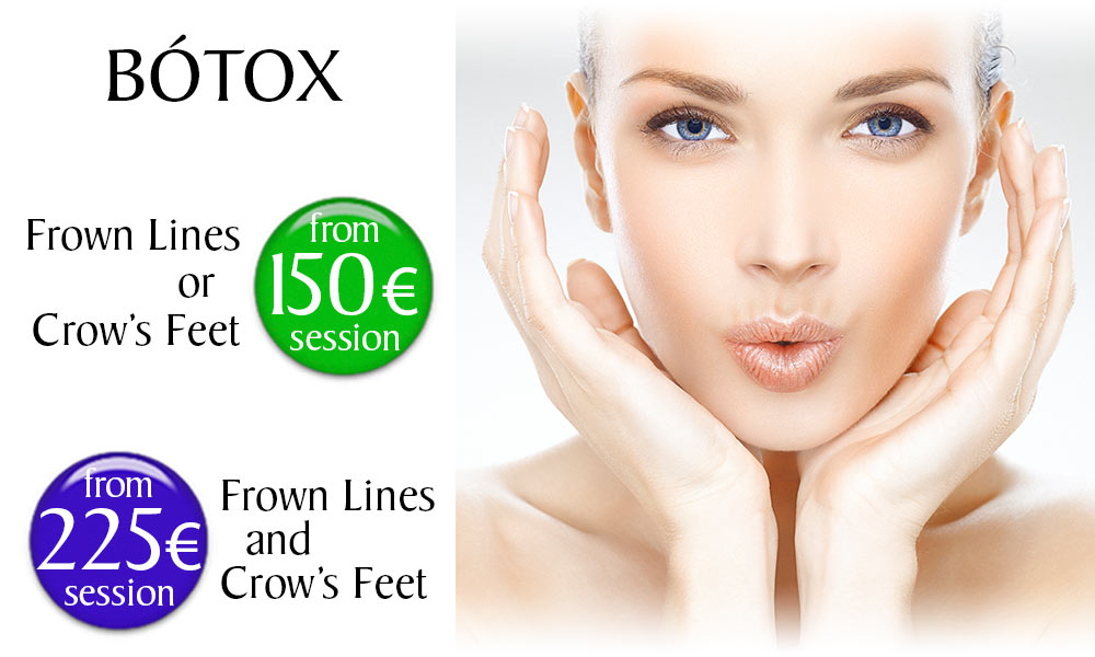 Botox treatment prices at Clínica Dual in Valencia