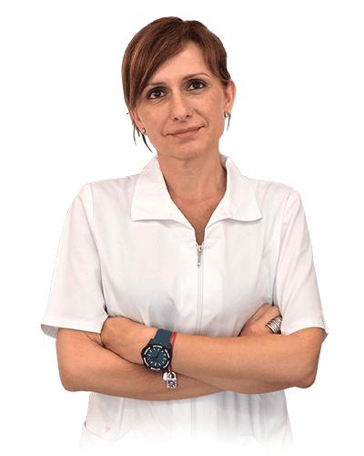 Carmen Santiago, enfermera de la Clínica Dual de Valencia