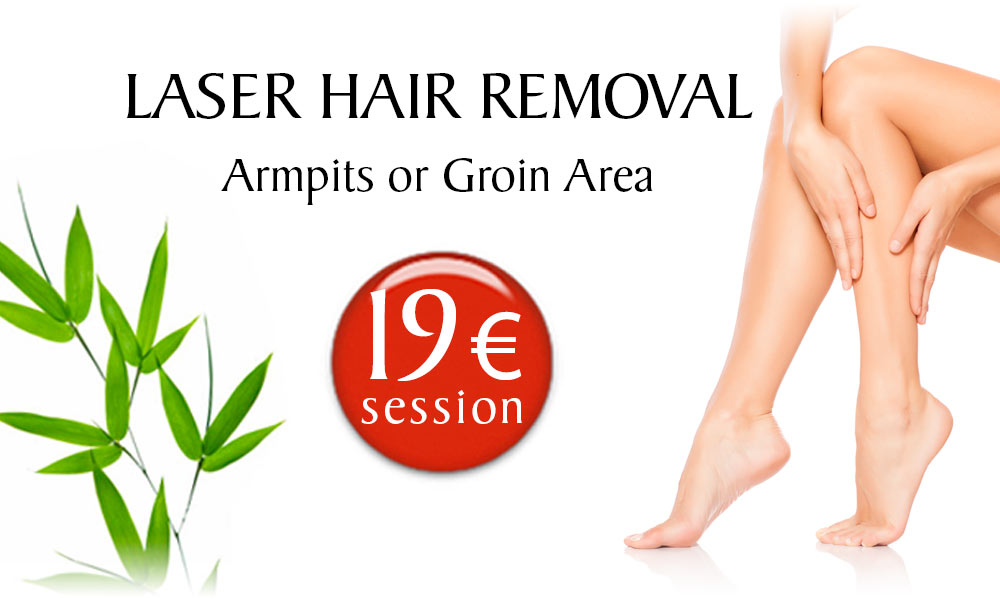 Laser Hair Removal treatment prices at Clínica Dual in Valencia
