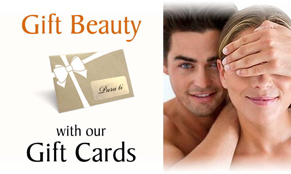 Gift beauty with our Aesthetic Treatment Gift Cards