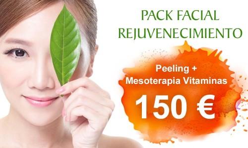 Pack de Rejuvenecimiento Facial: Peeling y Mesoterapia Vitaminas | Clínica Dual