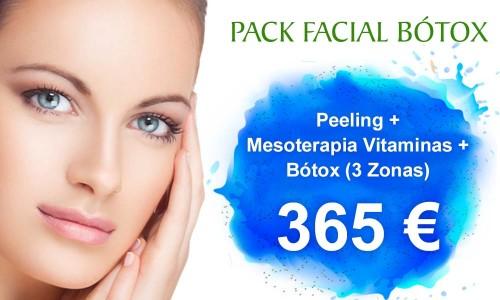 Pack de Tratamientos Faciales Completo: Relleno de labios, Bótox, Peeling y Mesoterapia Vitaminas | Clínica Dual