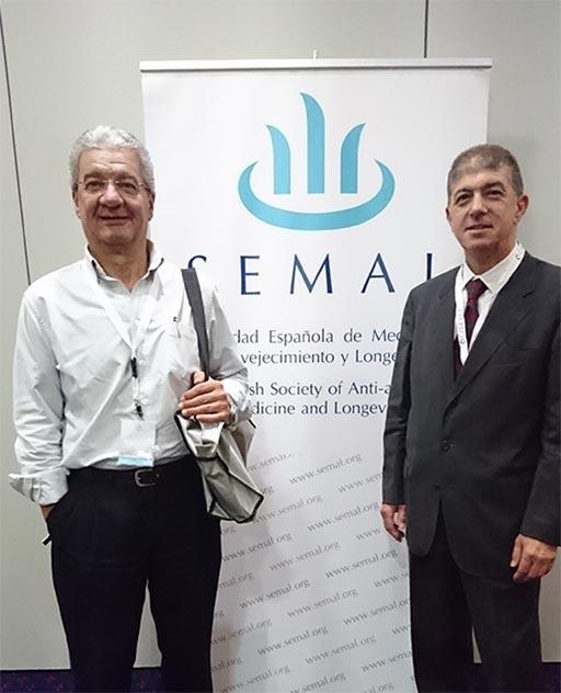 SEMAL 2018: los doctores Ricardo González y José Folch | Clínica Dual Valencia